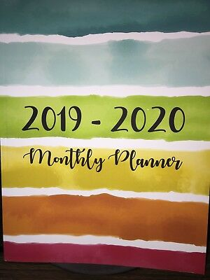2019-2020 Two-year Monthly Planner Calendar Appointment Book
