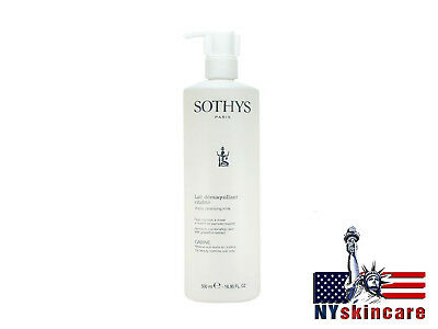 Sothys Vitality Cleansing Milk Normal Combination 500ml/16.9oz Prof Brand New