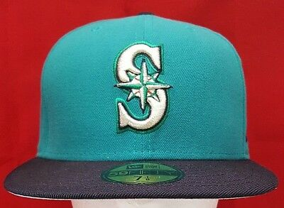 best website b2e89 26022 ... spain seattle mariners mlb new era 59fifty fitted cap hat 81a42 ac7d8
