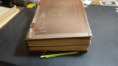 Scott International Brown stamp collection in 19th century Album 10K stamps $$$