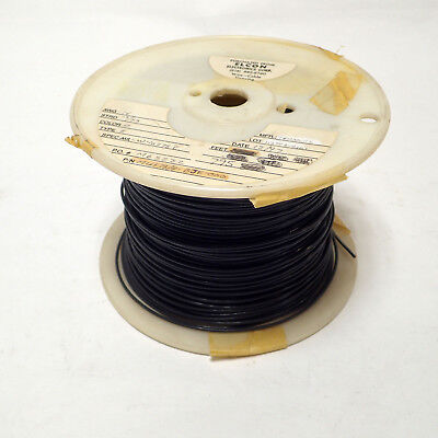 0.08mm² Silver Plated Black USSR Teflon PTFE Wire MC-1 10m 33 ft 28AWG