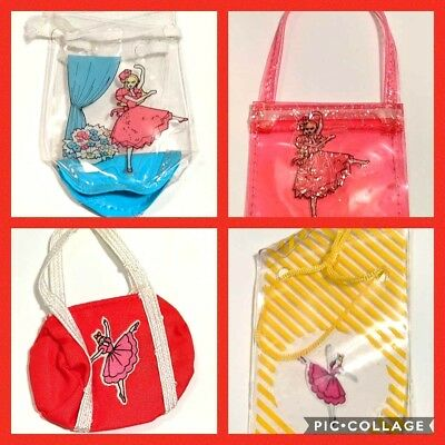 Barbie Doll ~ 1987 BALLERINA BALLET Totes Bags *CHOOSE STYLE* My First Fashion