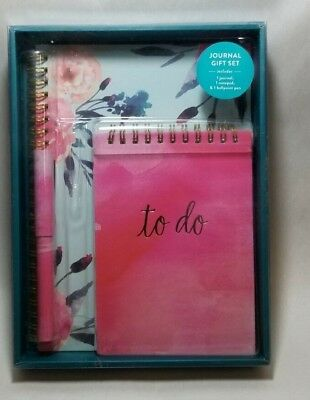 Eccolo Journal Gift Set 3 Pieces (Floral)