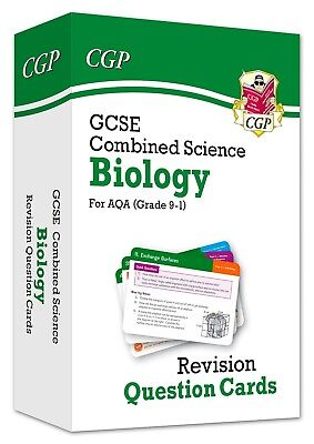 New 9-1 GCSE Combined Science: Biology AQA Revision Question Cards (CGP...
