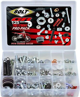 Honda CR125R 2000-2007 Bolt Complete Pro Pack - 2-Stroke CR125R Off-Road MX