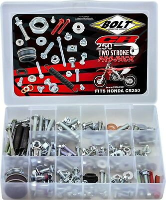 Honda CR250R 2000-2007 Bolt Complete Pro Pack - 2-Stroke CR250R Off-Road MX