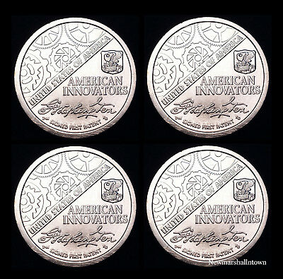 2018 P+D American Innovation Mint Set from Mint Rolls Position A+B