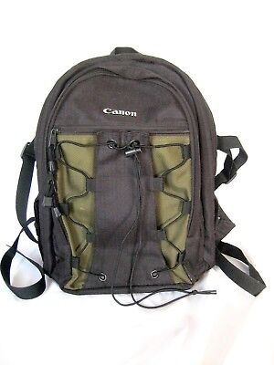 Canon Deluxe Photo Backpack 200eg Black With Olive 6229a003