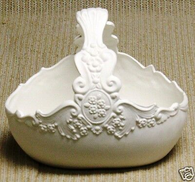 Ceramic Bisque Carved Victorian Basket Donas Mold 724 Ready to Paint U-Paint