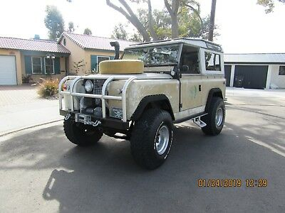 1964 Land Rover LR2  1964 LAND ROVER DEFENDER SERIES II 4X4 VORTEC V6 4.3L  4 SPEED  W 3 TOPS LIFTED