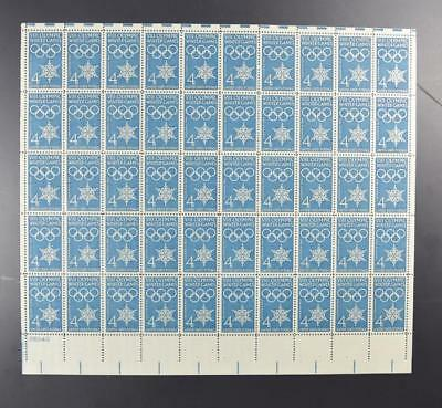 Us Scott 1146 Pane Of 50 Viii Olympic Winter Games Stamps 4 Cent Face Mnh