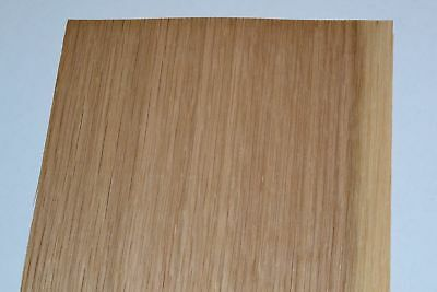 Oak Wood Veneer Sheets 6.5 x 31 inches 1/42nd thick                     F8633-43