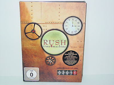 "*****DVD-RUSH""TIME MACHINE""-2011 Eagle Vision*****"