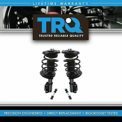 Front Suspension Kit Strut & Spring Assemblies with Sway Links for GM New