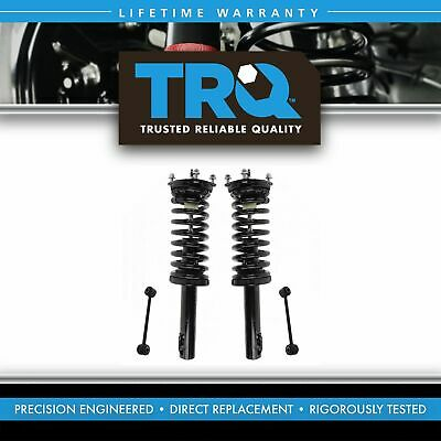 Front Suspension Kit Strut & Spring Assemblies with Sway Links for Jeep New