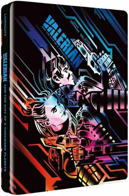 Valerian and the City of A Thousand Planets 3D - Blu-ray LE Steelbook - Region B