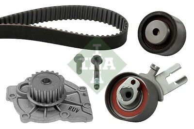 VOLVO XC60 156 2.0D Timing Belt & Water Pump Kit 10 to 15 Set INA Quality New