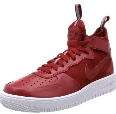 Nike Air Force 1 one Ultraforce red Mid shoes mens new 864014 600 sneakers  sz 14 e4df30c2b