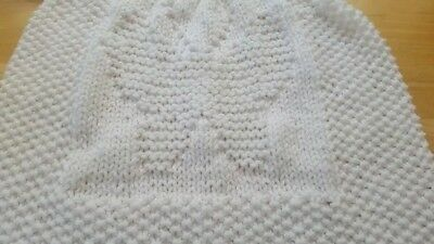 Baby Butterfly baby blanket.easy knitting pattern **BEGINNER**
