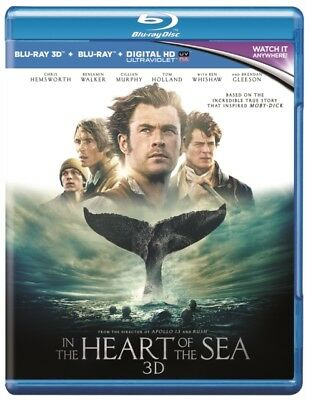 In the Heart of the Sea (Blu-ray 3D) **NEW**