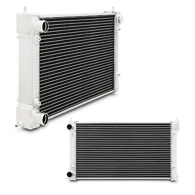 40mm HIGH FLOW ALLOY RACE RADIATOR RAD FOR VW GOLF MK1 MK2 SCIROCCO CADDY GTI