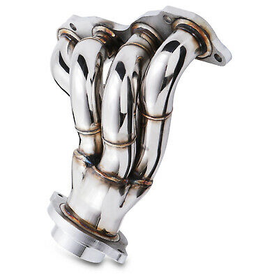 Stainless Exhaust 4-1 Tubular Manifold For Honda Civic Ep3 2.0 Type R 01-05