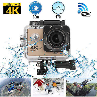 F60R 4K WIFI Remote Action Camera 1080P HD 16MP Waterproof DV Camera for GOPRO