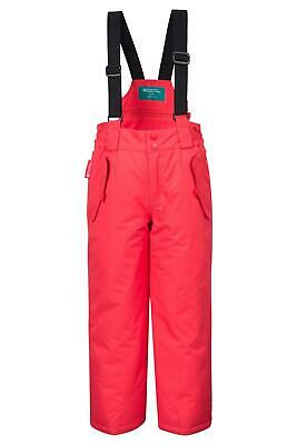 Mountain Warehouse Girls Ski Pants Snowproof Fabric with Part Elasticated Waist