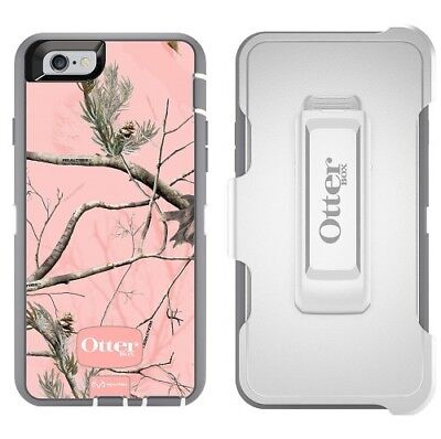 New OtterBox Defender For Apple iPhone 6 / iPhone 6S Case - Ap Pink