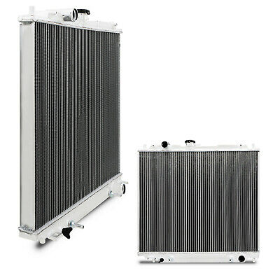 42mm HIGH FLOW ALLOY RACE RADIATOR RAD FOR MITSUBISHI PAJERO SHOGUN 2.5 2.8 TD