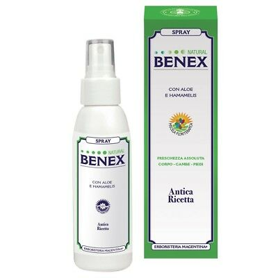 Spray Natural Benex Erboristeria Magentina 100 ML Spray col aloe e menta