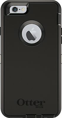 """OtterBox Defender For Apple iPhone 6/6S 4.7"""" Case Black (No Screen or Clip)"""
