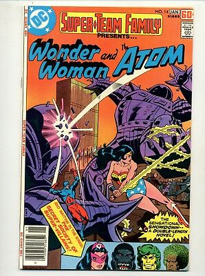 Super Team Family #14    Wonder Woman and the Atom