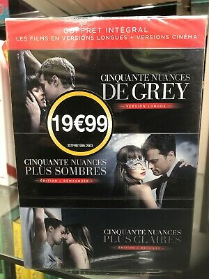 DVD cinquante nuances de grey Integral