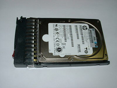 "504062-B21 HP 146GB 3G 15K rpm SFF 2.5/"" SAS DP Enterprise HDD Hard Drive W//Tray"