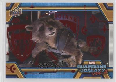 2017 Upper Deck Guardians of the Galaxy Volume 2 Red 41/49 Saving Star-Lord 0ad
