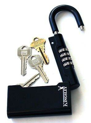 Kingsley Guard-a-Key Key Storage Lock- Real Estate Lock Box, Realtor Lockbox