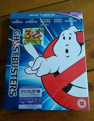 Ghostbusters (Blu ray, 1984) 30th Anniversary Edition Brand New and Sealed