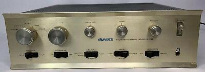 Vintage Dynaco SCA-80Q  DynaQuad Integrated Amplifier Working Condition