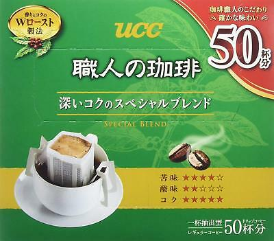 UCC Japan Instant Drip Bag Coffee Easy and Speedy Special Blend 50 cups