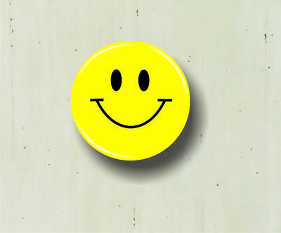 Smiley Face Pinback Button 125 Happy Hippie Novelty Yellow Purse
