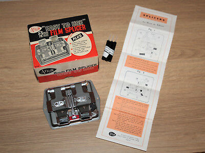 Arrow 8mm & 16mm Film Splicer - Easy to Use - Boxed - Excellent Condition