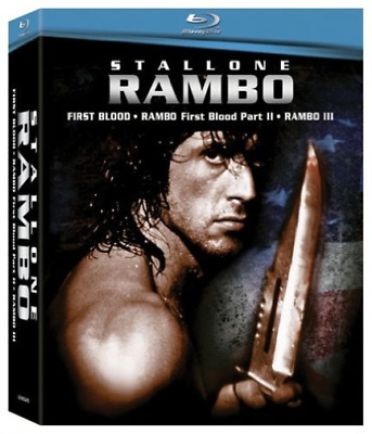 STALLONE,SYLVESTER-Rambo Trilogy Blu-Ray NEW