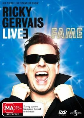 Ricky Gervais LIVE 3: FAME : NEW DVD