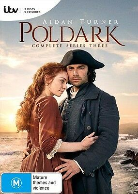 POLDARK Series : SEASON 3 : NEW DVD