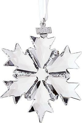 Swarovski Annual Edition 2018 Christmas Ornament, Large, Clear Crystal Snowflake