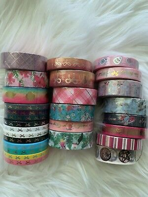 Simply Gilded Washi Tape | 28 Rolls Ombré New One Random Japanese Washi