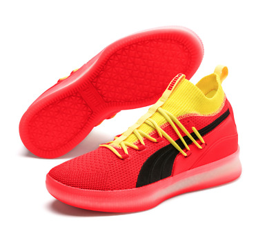 info for 87b83 102c1 PUMA CLYDE COURT Red Blast 19171502 191715-02 Basketball Shoes Sneakers