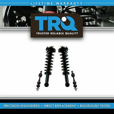 Front Suspension Kit Strut & Spring Assemblies with Sway Links for F150 Mark LT