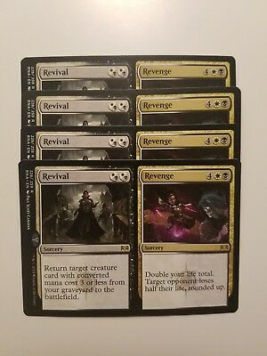 MTG Magic 4x Revival / Revenge Ravnica Allegiance NM